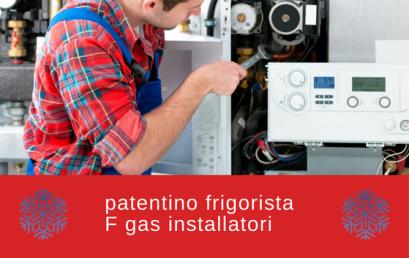 Vuoi ottenere l'abilitazione F gas? Ecco come fare per conseguire il patentino frigorista