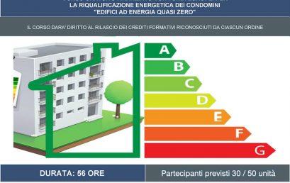 CORSO GRATUITO PER LA RIQUALIFICAZIONE ENERGETICA DEI CONDOMINI